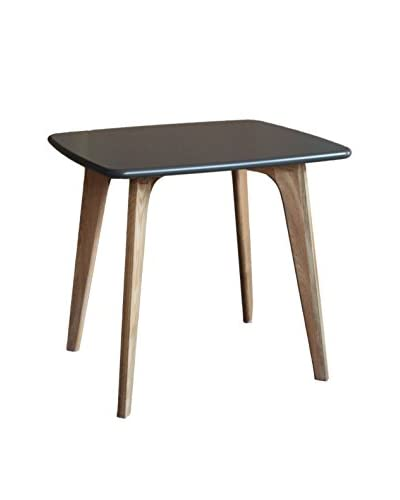 Gallerie Décor Vista Square Table, Grey