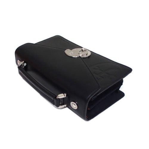 (カステルバジャック) CASTELBAJAC tirier トリエ カブセ型 錠前付き 2ルーム 小ぶりのセカンドバッグ 164207 (クロ)