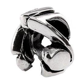 Silverado 'Music Spacer' Silver Charm - Fits On Pandora Chamilia And Troll Bracelets