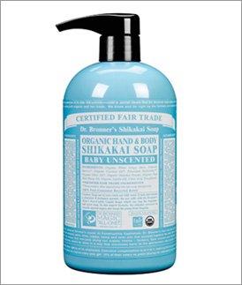 Shikakai Organic Baby Unscented Body Soap - 24 oz - Liquid