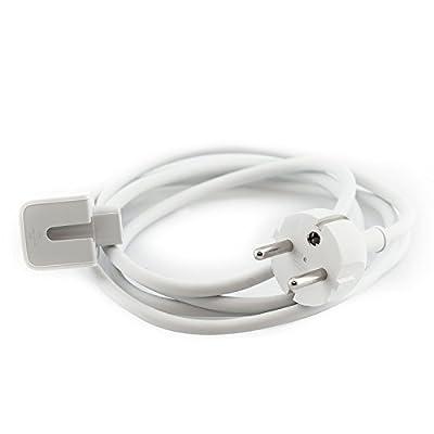 iProtect 2in1 Set Ladegerät Netzteil 85W und Kabel für Apple MacBook mit MagSafe Netzanschluss Charger weiß