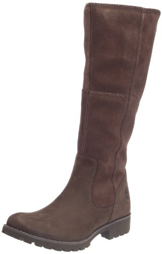 Timberland Women's Ek Atrus Wp Tall Dk Brown Boots 17638 Dark Brown 6 UK