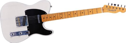 buy cheap fender 60th anniversary indiana barn 39 52 telecaster electric guitar whitewash on sale. Black Bedroom Furniture Sets. Home Design Ideas