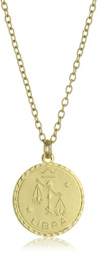 Privileged NYC Zodiac Libra Coin Necklace