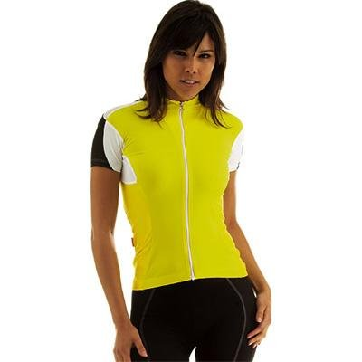 Buy Low Price Assos 2013 Women's SS.13 Lady Short Sleeve Cycling Jersey – Yellow – 12.20.204.30 (B002F9AR5M)