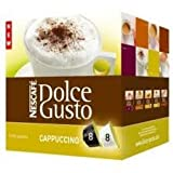 Nescafe Dolce Gusto Cappuccino Pack of 6, 6x16 Pods
