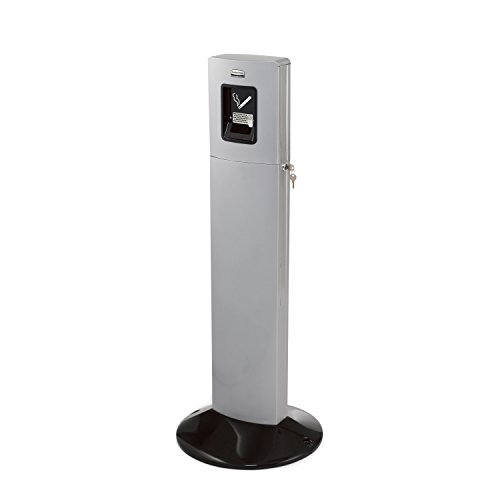 rubbermaid-commercial-products-fgr93400sm-smokers-station-metropolitan-argent