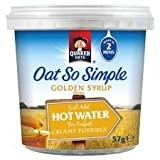 Quaker Oats Oat So Simple Golden Syrup Porridge 57G