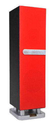 Sylvania Mini Bluetooth Tower Speaker (Red)