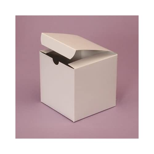 Wedding Gift Boxes Amazon : Amazon.com : 50 - 3x3x3 White Favor Boxes - Wedding, Party, Gift Box ...