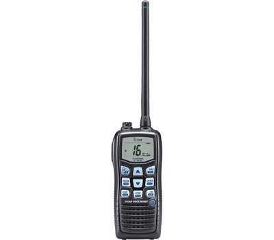 Buy Discount Icom M36 01 Floating Handheld 6W Marine Radio with Clear Voice Audio