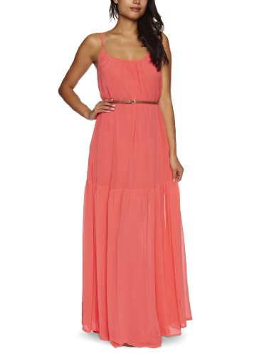 Full Circle Yuna Women's Maxi Dress Hot Coral