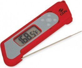 ProAccurate Folding Thermocouple Thermometer Color: Red