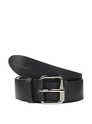 Dolce & Gabbana Cinturón Piel (Negro)