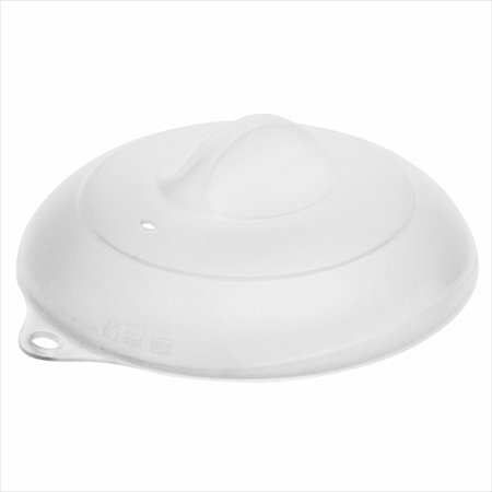 Zak Design Zakwave 0025-M780 6.9 In. Clear Silicone Lid, Pack Of 6
