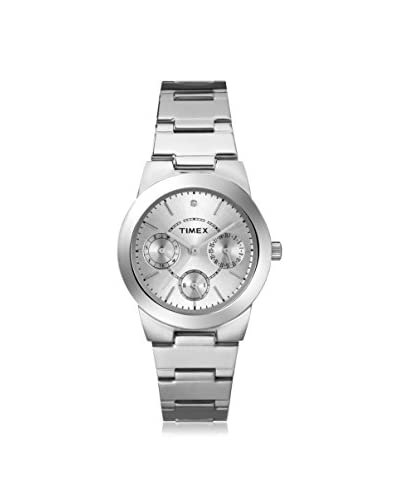 Timex Women's T2N972 Stainless Steel/Silver Stainless Steel Watch