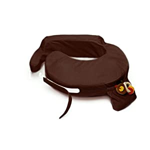My Brest Friend Deluxe Nursing Pillow, Chocolate, 0-12 Months