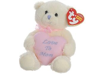 Ty Beanie Babies  My Mom  - Mother's Day Bear