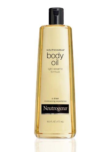 Neutrogena Body Oil Light Sesame Formula, 16 Fluid Ounce (473 ml)