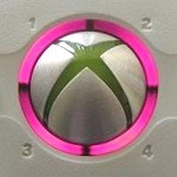 Video Games Accessories : Xbox 360 Console Controller Led Mod Ring Of Light Spare Parts Replacement Decoration (Pink)