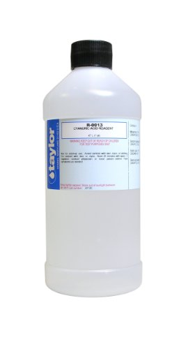 Taylor replacement reagents cyanuric acid 13 16 oz What is cyanuric acid in swimming pools