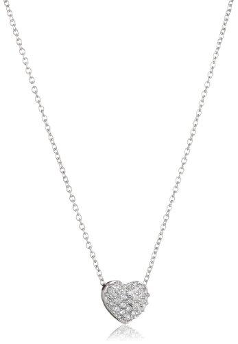 Armband mit Diamantenschliff Herz Anhänger mit Name-Wunschgravur aus 925 Silber