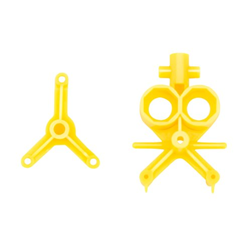 Syma Main Frame for Syma S6 Mini Helicopter, Yellow - 1