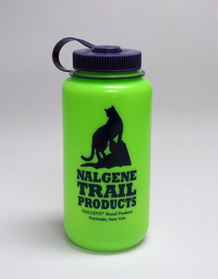 Nalgene 32Oz Wide Mouth Hdpe Water Bottle (Spring Green) front-465212