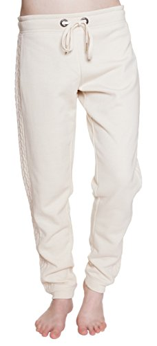 Steve Madden Brushed French Angora Terry Cuffed Lounge Pant