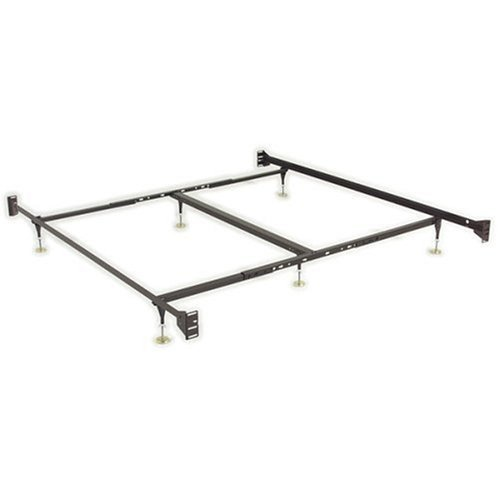 Adjustable Bed Frame Queen To King : How to adjustable queen eastern king sturdy metal bed