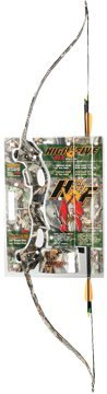 High Five RLX G-1 Camo Recurve Youth Bow Set