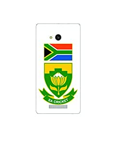 GripIt South Africa Cricket Board Back Cover for Lava A59