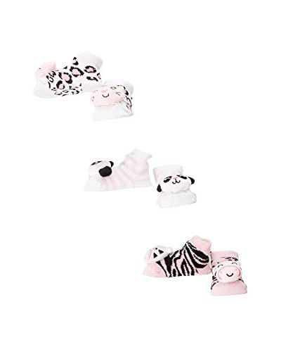 Pitter Patter Baby Gifts Pack x 3 Calcetines