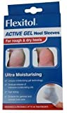 Flexitol Active Gel Heel Sleeves (1 pair) (Washable & Reusable, 40 Treatments)