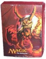 Magic the Gathering Champions of Kamigawa Deck Box with 80 Matching Card Sleeves - 1