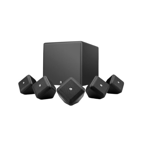 Boston Acoustics Soundwarexs5.1B 5.1 Surround Speaker System (Black)