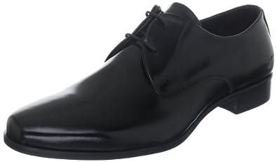Evita Shoes Schnürer elegant 3455012163, Herren Klassische Halbschuhe, Schwarz (schwarz), EU 46