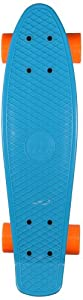 Ridge Retro 27 Skateboard complet Bleu/Orange 27