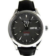 Ball NM2028C-LCJ-GY Watch Red Label COSC Mens - Black Dial Stainless Steel Case Automatic Movement