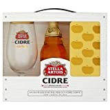 Stella Cidre 568Ml & Glass & Ice Tray Gift pack Set
