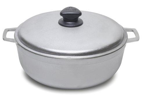 Imusa GAU-80507W Cast Aluminum Caldero Dutch Oven, 11.6Quart, 14-Inch (Rice Pot Caldero compare prices)