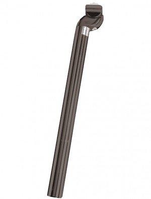 Alu Patentsattelstütze Schwarz (Ausführung: schwarz 26,0 mm Ø 350 mm Länge)