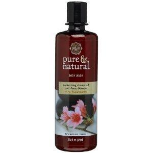 Pure & natural body wash
