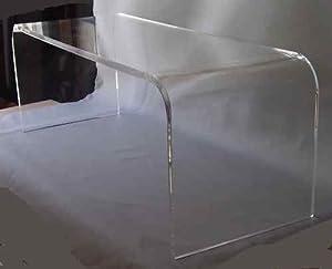 "Amazon.com - Acrylic Coffee Cocktail Waterfall Table Lucite 40"" Long X 16 X 18"" High"