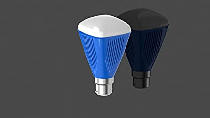 4W Aluminum LED Bulb (Multicolor, Pack Of 3)