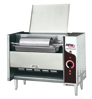 APW Wyott M-95-2 - Vertical Conveyor Bun Grill