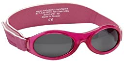 Baby Banz Ultimate Polarized Sunglasses, Pink, Infant