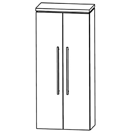 Cool Puris Line (MNA816A5 Bathroom Cabinet 60 CM