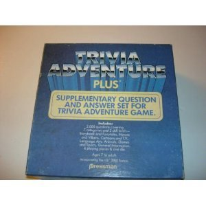 Trivia Adventure Plus: Supplementary Question and Answer Set for Trivia Adventure Game - 1
