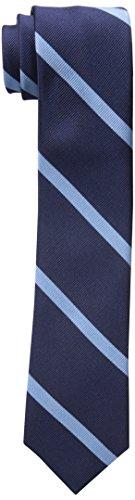 Tommy-Hilfiger-Mens-Thin-Bar-Stripe-Slim-Tie